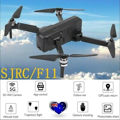 AU SJRC F11 GPS 5G 2.4Ghz WiFi FPV 1080P Camera Foldable Brushless RC Drone