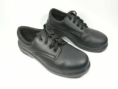 5a666f641 ARCO ESSENTIALS BLACK Steel Toe Cap Safety Work Shoes Size 5 - £2.00 ...