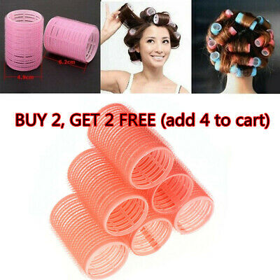 Multi Size Hair Rollers Salon Hairdressing Curlers Self Grip Hair Styling Tools