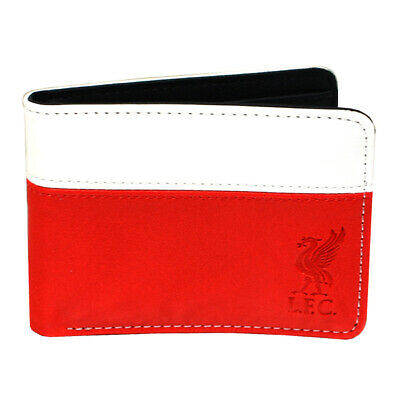 Liverpool Wallet 2 Tone Red White Money Purse Card LFC Synthetic Leather