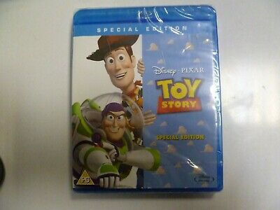 Disney Pixar Toy Story Blu Ray Brand New & Sealed Shrinkwrap Classic Woody Buzz