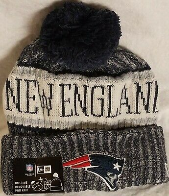 03aa6b206 NFL NEW ENGLAND Patriots YOUTH KID'S Sideline Sport Beanie Knit Hat ...