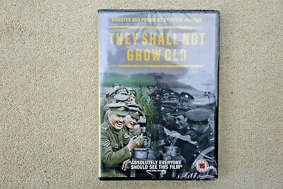 They Shall Not Grow Old ( Peter Jackson )    Brand New Sealed Genuine Uk Dvd