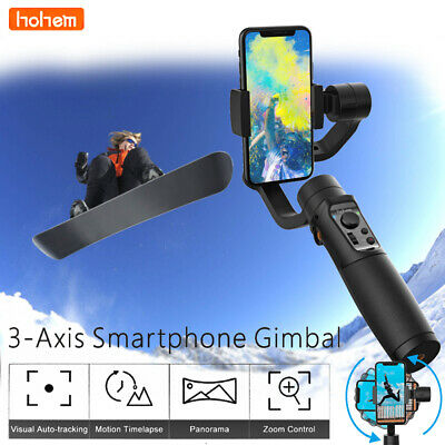 hohem iSteady Mobile+ 3-Axis Handheld Stabilizzatore Gimbal Auto-Tracking iPhone