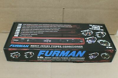 Furman Merit Series M-8Dx 9-Outlet Power Conditioner Brand New
