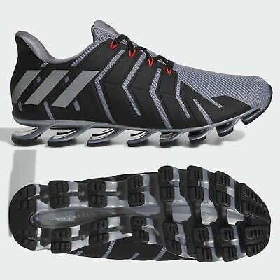 ADIDAS SPRINGBLADE PRO Mens Grey Running Shoes Trainers