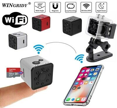 Mini SQ13 FULL HD Waterproof Camera Sport Action Record Cam Holder 1080P + WiFi