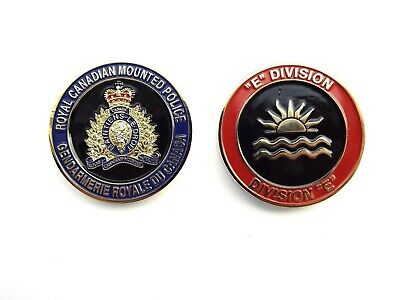 RCMP Division Challenge Coin - E Division (408RCG)