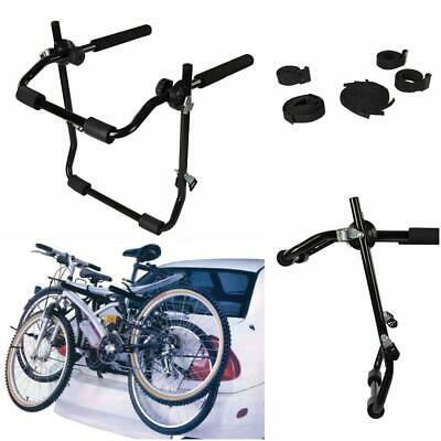 Rear Tailgate Boot Bike Rack 3 Bikes 45kg Inc Straps Cycle Carrier Car