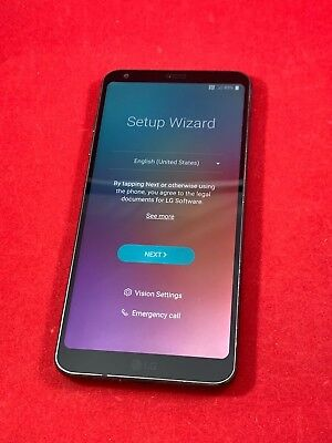 New Other LG G6 32GB Black Verizon Unlocked Smartphone Android GSM VS988 CDMA