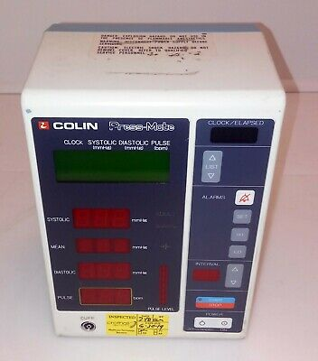 Colin Press-Mate Sphygmomanometer Model BP-8800C  -- 21C-2
