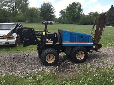 Ditch Witch 410 SX Trencher - Vibratory Plow