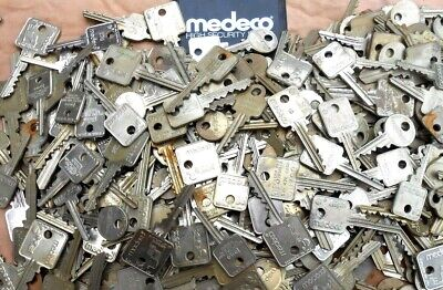 1.5 Pound  MEDECO  High Security cut  Keys    Art ,Collectors,Locksmith ...