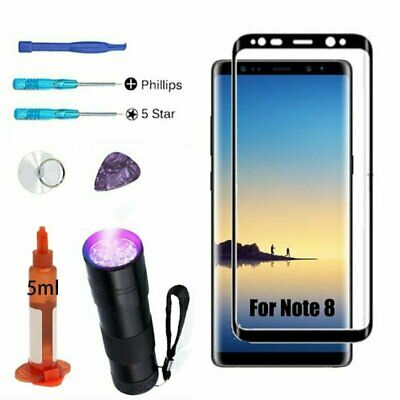 Front Outer Screen Glass Lens Replacement Repair Tools For Samsung Galaxy Note 8