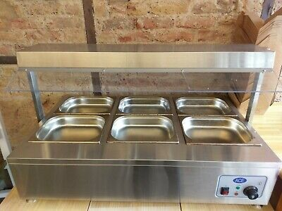 Mini Table Top Carvery Unit Bain Marie 5 pans + Spike. Collection only. London