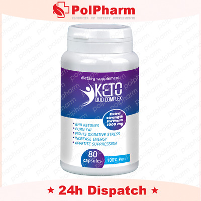 KETO Advanced Weight Loss Diet Ketosis Supplements To Fat Burn&Carb 80 caps