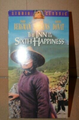 a5 The Inn of the Sixth Happiness (VHS, 1994)