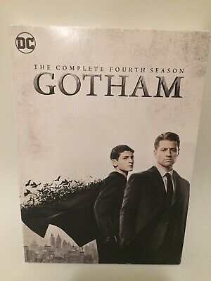 Gotham The Complete Fourth Season DVD Set DC Free Shipping