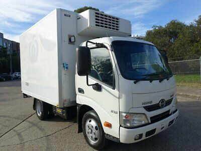 2013 Hino 300 616 Refrigerated Truck Auto Car Licence