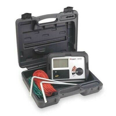 MEGGER Earth Ground Tester,128 Hz,100VAC, DET3TC