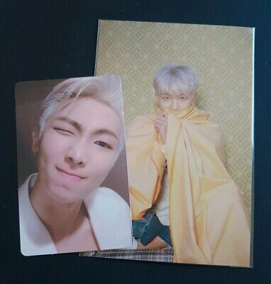 BTS Map of the Soul : Persona Photocard & Postcard - RM (Namjoon) version 2