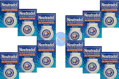 12 X Neutradol Original Gel Aire Freshner. Gran Valor