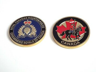RCMP Challenge Coin - Canada (Gold Colour)