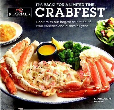 red lobster crabfest coupon
