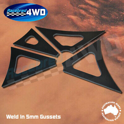 Laser Cut Weld In 5mm Thick 150mm  Length Gusset Style 2