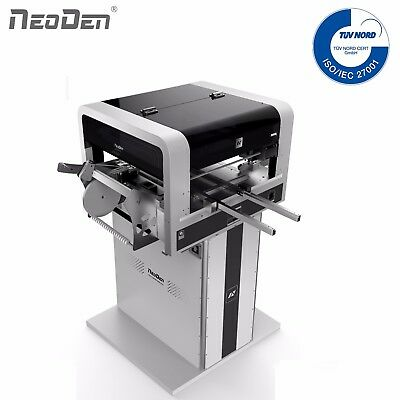 NeoDen SMT Pick and Place Machine Cameras 19 Feeders 4 Heads Works for 0201 BGA