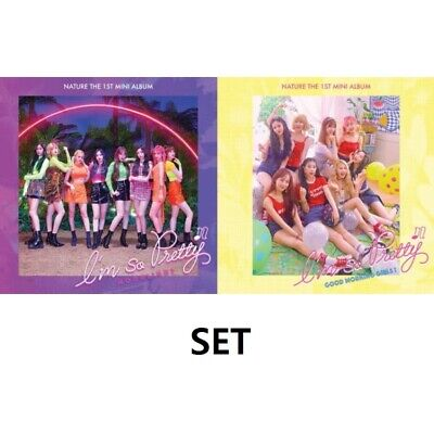 NATURE [I'm So Pretty] 1st Mini Album 2 SET VER CD+Photo Book+Photo Card K-POP