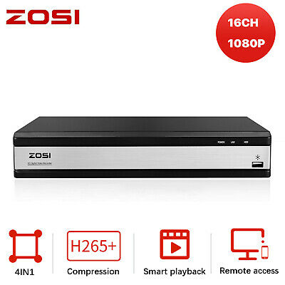 ZOSI 16CH HD 1080N HDMI DVR Video Recorder for CCTV Security Camera System Home