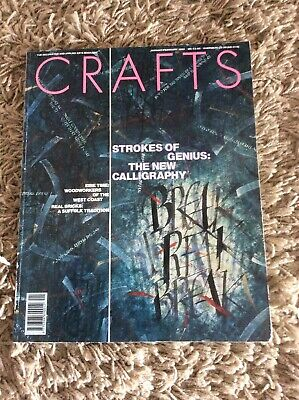Crafts Magazine January/February 1992 In Good Condition