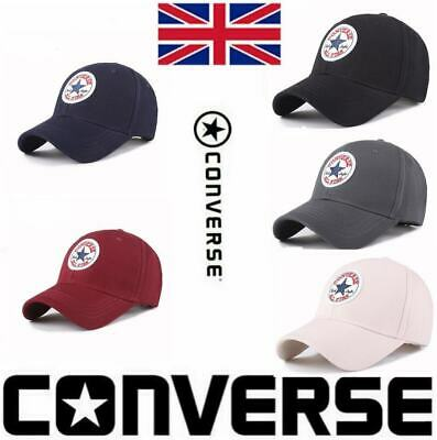 Converse All Star Unisex Baseball Cap Adjustable Snapback Sport Hip-Hop Sun Hat