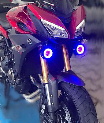 Tracer 900 GT 2018 2019  Auxiliary  Fog Lights Holder Support