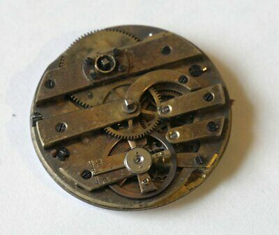 HENRY CAPT GENEVE watch caliber - WORKING BUT FOR REPAIR OR PARTS