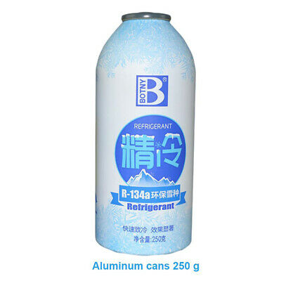 1PC Auto Car Air Conditioning Refrigerant R134a Automotive Gas Replacement 250g