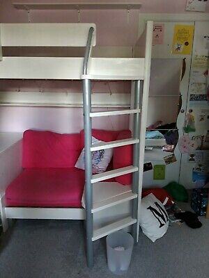 Awesome Stompa Casa High Sleeper With Sofa Bed Pull Out Desk And Camellatalisay Diy Chair Ideas Camellatalisaycom
