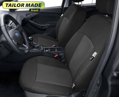 Tailored front seat covers for Ford Focus II, III  LHD  made to measure