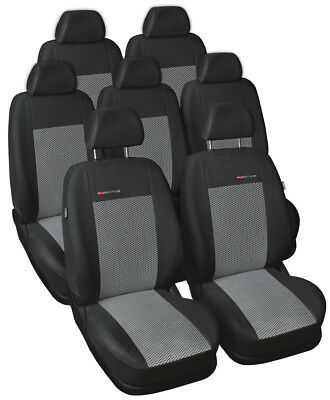 Tailored seat covers for Citroen Xsara Picasso  FULL  SET 5 seater grey2