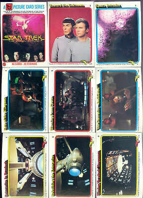 Star Trek The Movie - Complete Card Set (88) 1979 - NM