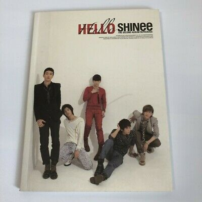 SHINee 2nd Repackage Album HELLO CD+Photobook Free Shipping