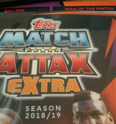 Match Attax Extras 2018/19 ,Ballers . Backs,Man Of The Match ,Buy 4 Get 8 Free