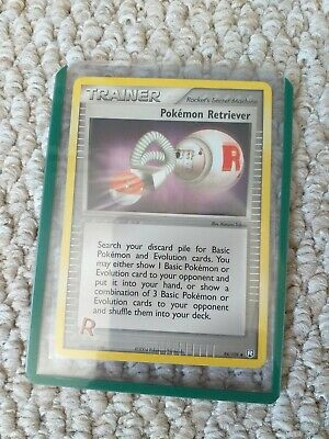EX TEAM ROCKET RETURNS Select your card Pokemon Trainer Cards