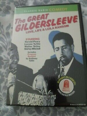 The Great Gildersleeve-Love, Life & Leila Ransom, audio CD, new, sealed!