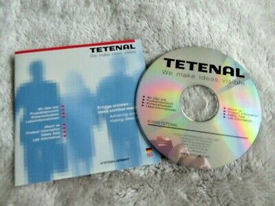 Tetenal Photo chemical Product Information Data CD    2000. Eng + German