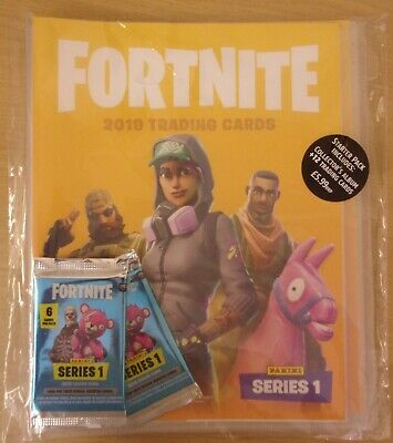 Fortnite ~ Panini Trading Card Collection ~ Starter Pack
