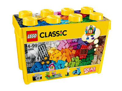 10698 LEGO Large Creative Brick Box Classic Age 4 Years+ with 790 Pieces