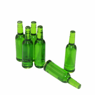Beer Wine Bottle Toy Mini 6pcs/set Miniature Doll House Funny New Hot 2018