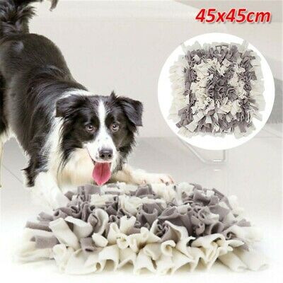 For Pet Snuffle Mat Dog Cat Food Mat Pressure Relieving Nosework Training Wash